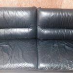 諏訪地域 本革ソファーの色褪せ・ひび割れ修理