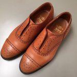 革靴のカラーチェンジ修理!最高級紳士靴のオールデン!
