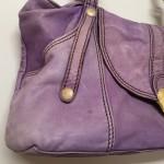 革バッグの「色褪せ」「色落ち」は補色修理で復元致します!