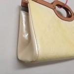 【ルイヴィトン】エナメルバッグの黄ばみ・変色をお直ししました!