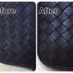 革財布の修理・色落ちや色あせを復元致します