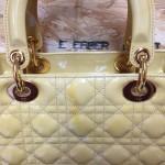 【Dior】エナメルバッグの黄ばみ・変色修理