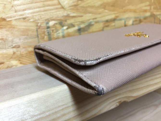 PRADA財布修理前_3