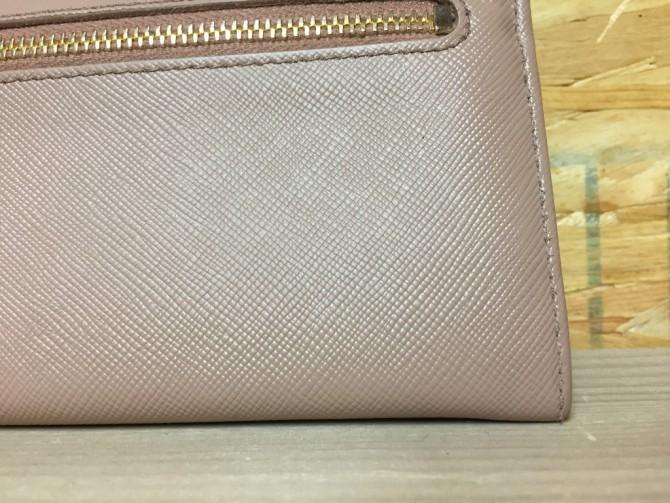 サフィアーノの財布表面