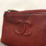 【CHANEL】大切な財布に黒シミが!!!染め直し修理でキレイにする事が可能です